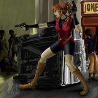 Claire Redfield:Heartbeat by shrumpish