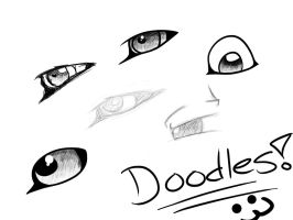 Doodles!~ by TheEnthusiasticWolf