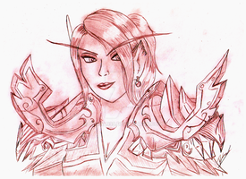 Lady Arvienne Sunblade by Bhaal999