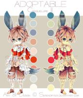[CLOSED] Adoptable: Craquelure III by Staccatos