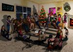 Biggest Xmas Collab 2015 by villamar