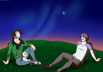 Cry and Russ ~ Stargazing by RuuRuu-Chan