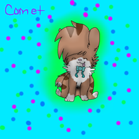 :R: Comet The Cutie by AussieSpots