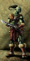 Hunter Leader Ogre by greatbubba