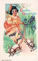 Easter vintage card by SolStock