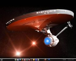 Win7 Star Trek 1701 Theme by KeybrdCowboy