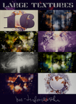 16 Large Textures Pack by mr-tiefenrausch