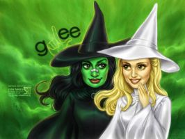 Glee: Wicked - Pretty Unpretty by daekazu