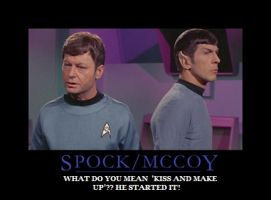 Spock McCoy by pink77punk