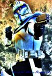 Clone Wars Captain Rex by DWMoran