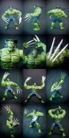 The Incredible Wolverine fig by SomaKun