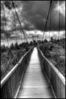 Walking On Air (The Swinging Bridge) by GoldenChild8000