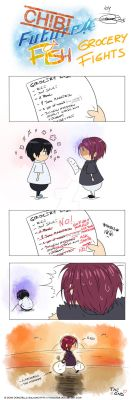 CHIBI FUTURE FISH Chapter 6 - Grocery fights... by Yohao88