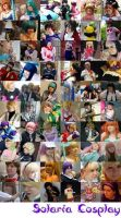 Cosplay Collage by NavigatorxNami
