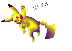 Pikachu for Kakidex by pikachu-jaune