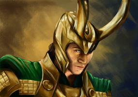 Loki Laufeyson by superpsyduck