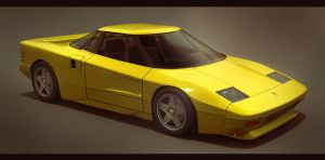 1987 Ferrari Integrale 3D by AdamKop