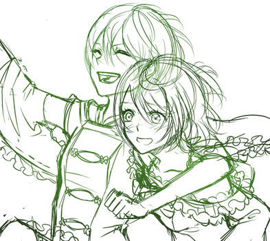 Rinpana WIP (Collab) by EndlessRz
