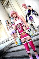 Serah - Trio by SoraPilzi