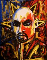 Anton Lavey by amoxes