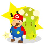 Mario by Lucora