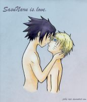 Sasunaru love by Gaby-Aya
