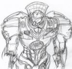 Jaeger 34: Gypsy Danger by ConstantM0tion