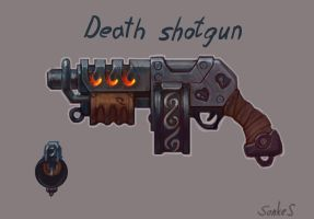 death shotgun by Real-SonkeS