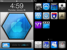 nameless ipod touch theme by gravedesires777