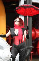 Red and Black Steam by dbvictoria