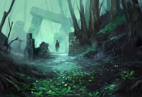 Relicts in the Forest by Nele-Diel