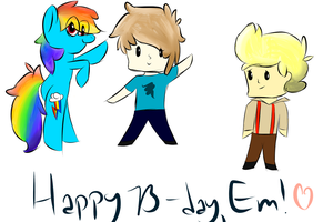 happy b-day Em! by angelcosmo
