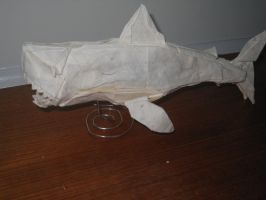 Jaws ( great white shark ) by Origamilover462002