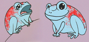 Frog Character Concept by N-B-R-artwork