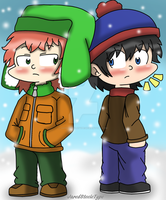 South Park: Stan and Kyle by JaredSteeleType