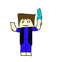 me in minecraft by 3picface