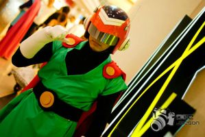 The Saiyaman Son Gohan Cosplay by jeffbedash325