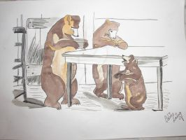 Three Bears by Coffee58