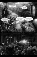 THE DARKNESS II CONTES PAGE BW by brutality84