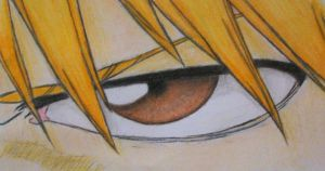 .:Bleach Eyes:. Ichigo by YummyCupcake