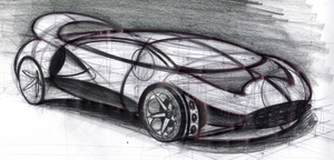 Pouncer Super Car sketch 1 by Augos