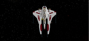 ARC-170/Mandalorian Starfighter Ugly V2 Top by mafia279