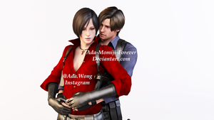 Aeon Ada Wong Leon S. Kennedy Valentine's Day 2014 by Ada-Momiji-Forever