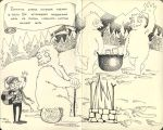 Bo's history: On a visit at snow monsters. by mirt