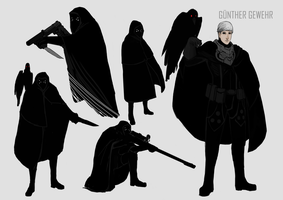Gunther Gewehr Character Sheet by DeadXCross