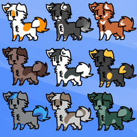 3 point adopts! by Toxad