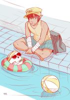 Pool Time by Paper-Plate
