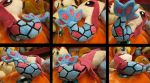 Milotic pokedoll scales reference angles by aSourLemon