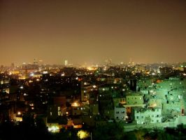 cairo by night by antonellapistarino