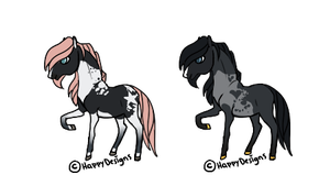 Cyril and Taffy Foals by HappyDesigns
